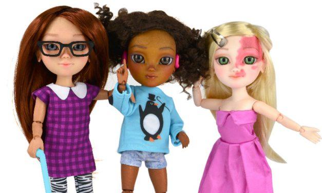 #ToyLikeMe podporuje hračky reprezentující děti s handicapem